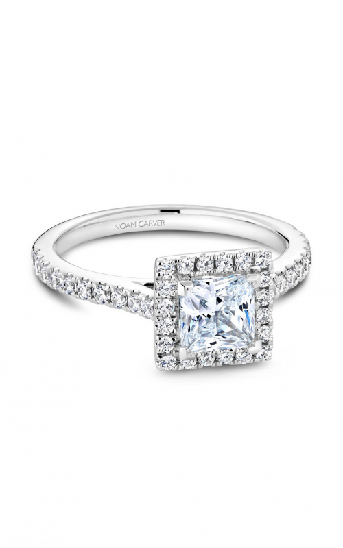 Noam Carver Halo Engagement ring R050-06WM product image