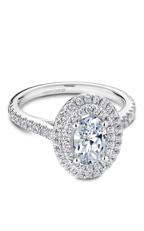 Noam Carver Modern Engagement Ring R051-02WM product image