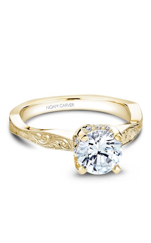 Noam Carver Vintage Engagement ring B020-04YM product image