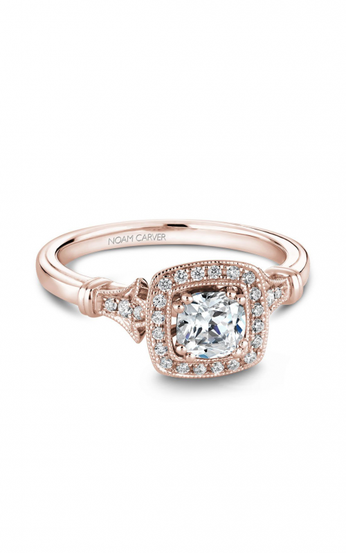 Noam Carver Halo Engagement ring B076-01RM-01A product image