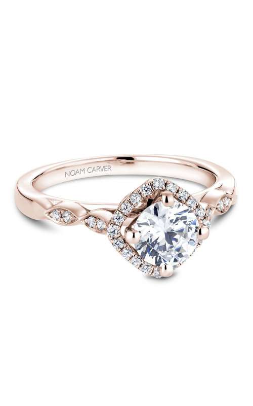 Noam Carver Floral Engagement ring B084-01RM product image