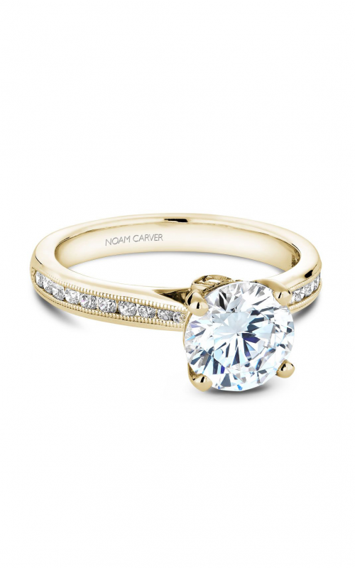 Noam Carver Solitaire Engagement ring B145-02YM product image