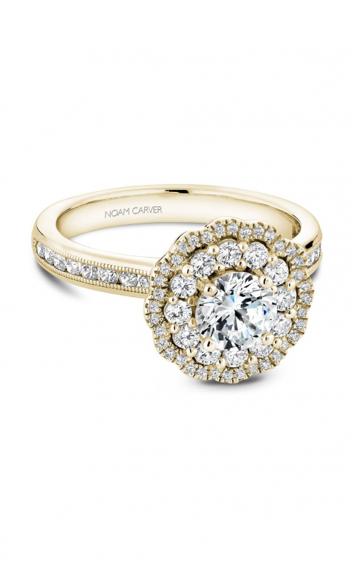 Noam Carver Engagement ring Floral B145-16YM product image