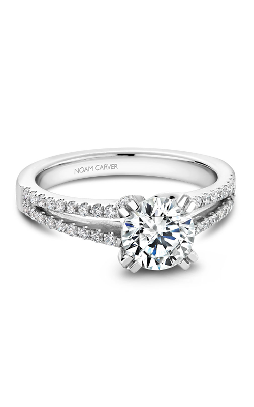 Noam Carver Solitaire Engagement ring B002-03WM product image