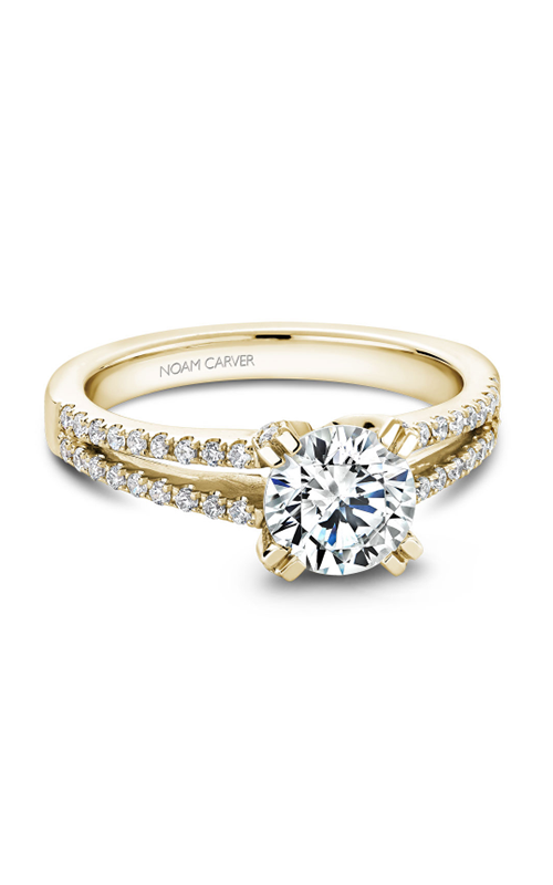 Noam Carver Solitaire Engagement ring B002-03YM product image