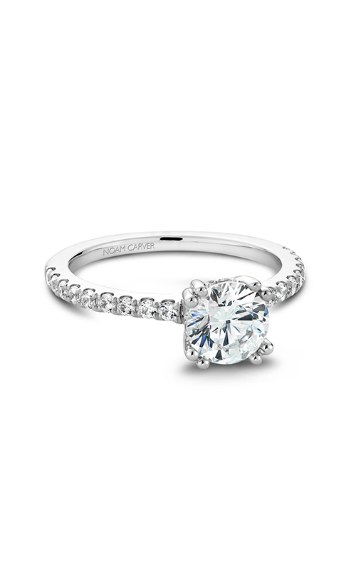Noam Carver Solitaire Engagement ring B004-01WM product image