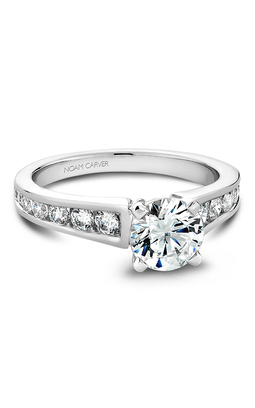 Noam Carver Engagement ring Solitaire B006-01WM product image