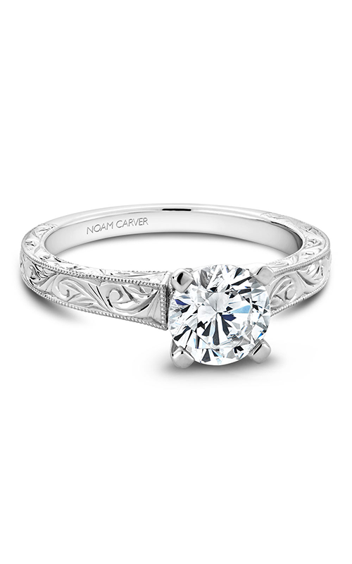 Noam Carver Solitaire Engagement ring B006-03WM product image