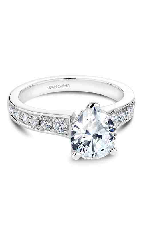 Noam Carver Engagement ring Solitaire B006-05WM product image