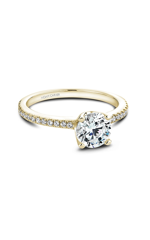 Noam Carver Engagement ring Solitaire B027-02YM product image