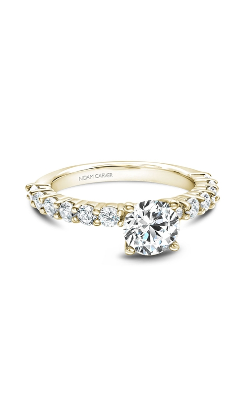 Noam Carver Solitaire Engagement ring B178-02YM product image