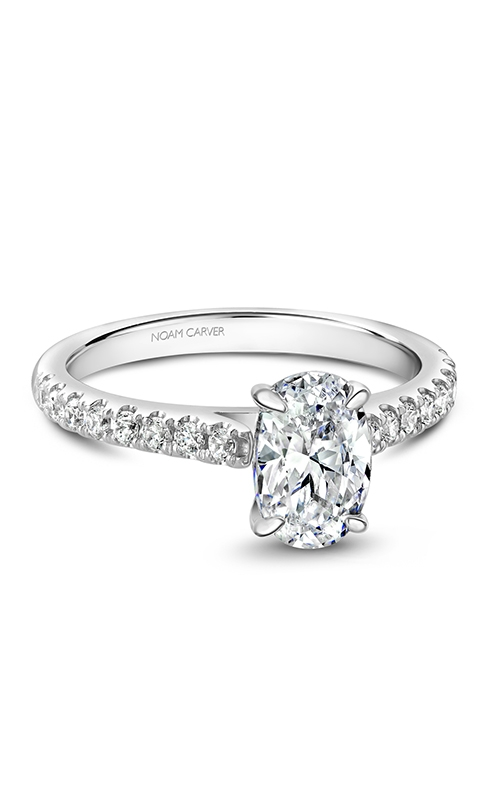 Noam Carver Solitaire Engagement ring B238-02WM product image