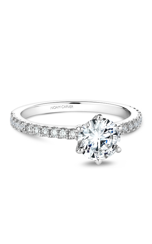 Noam Carver Solitaire Engagement ring B102-01WM product image