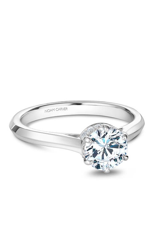 Noam Carver Solitaire Engagement Ring B242-01WM product image