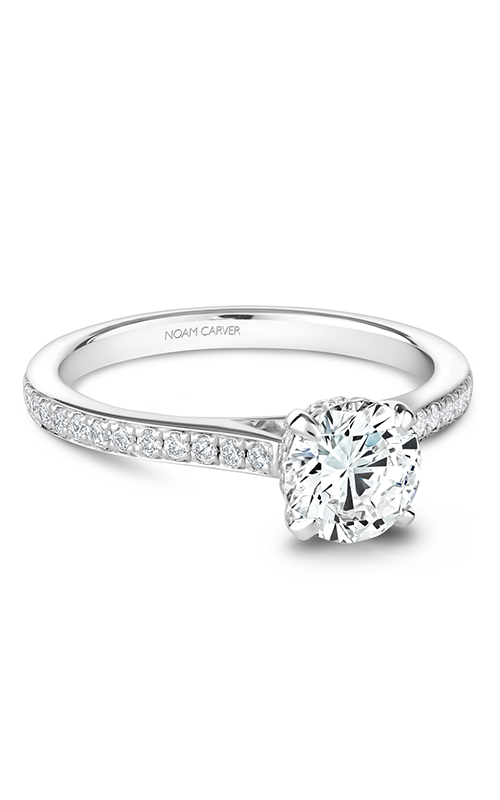 Noam Carver Solitaire Engagement ring B253-01WM product image