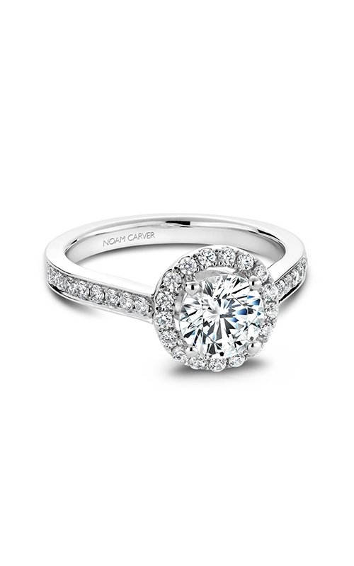 Noam Carver Engagement ring Halo B005-01WM product image