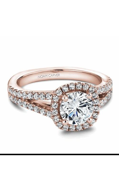 Noam Carver Halo Engagement ring B015-01RM product image