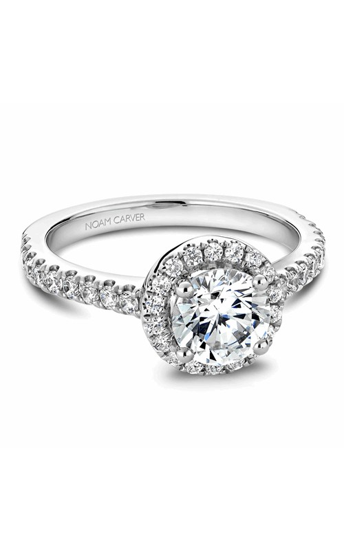Noam Carver Halo Engagement ring B029-01WM product image