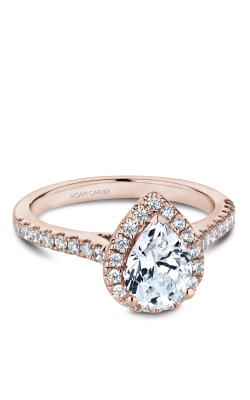 Noam Carver Halo Engagement ring B169-01RM product image
