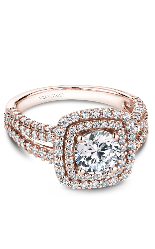 Noam Carver Halo Engagement ring B173-01RM product image