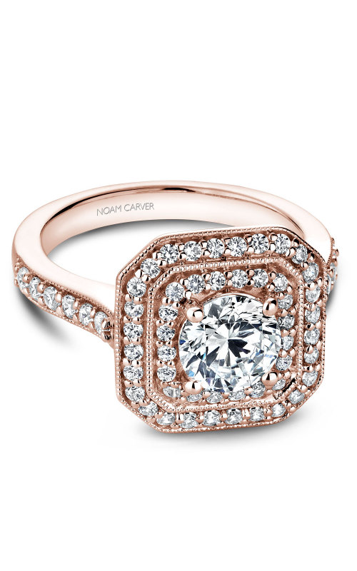 Noam Carver Halo Engagement ring B181-01RM product image