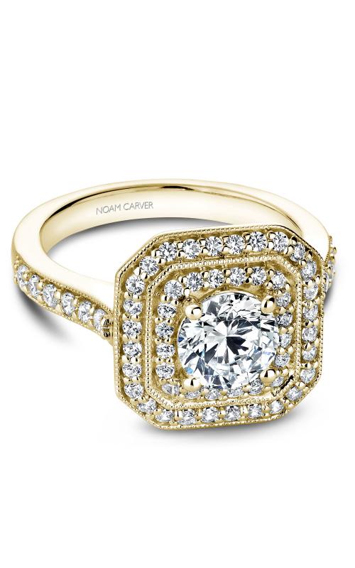 Noam Carver Halo Engagement ring B181-01YM product image