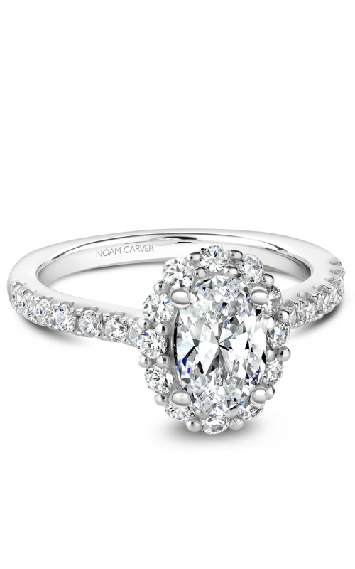 Noam Carver Engagement ring Halo B189-01WM product image