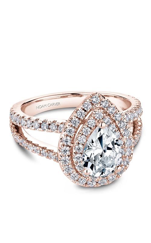 Noam Carver Halo Engagement ring B211-01RM product image