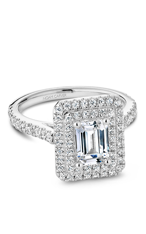 Noam Carver Engagement ring Halo R051-04WM product image