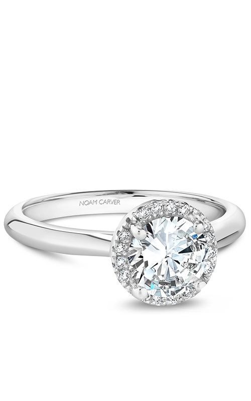 Noam Carver Halo Engagement ring B260-01WM product image
