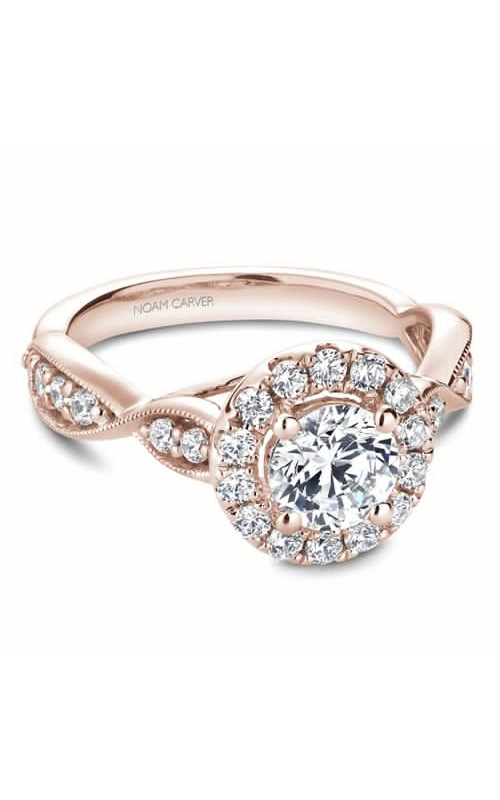Noam Carver Engagement ring Floral B160-01RM product image