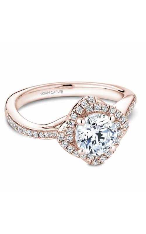 Noam Carver Engagement ring Floral B176-01RM product image