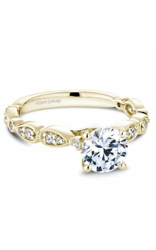 Noam Carver Floral Engagement ring B204-01YM product image