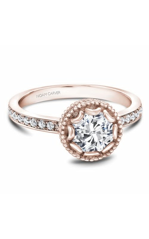 Noam Carver Floral Engagement ring R002-01RM product image