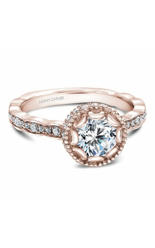 Noam Carver Floral Engagement ring R013-01RM product image