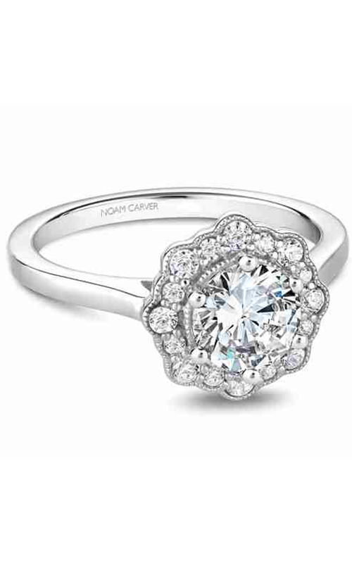 Noam Carver Engagement ring Floral B243-01WM product image