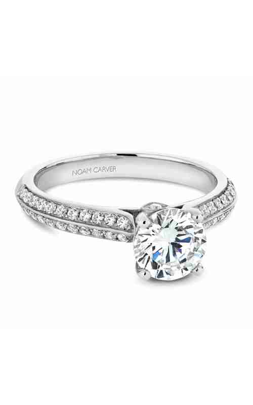 Noam Carver Vintage Engagement ring B144-02WM product image