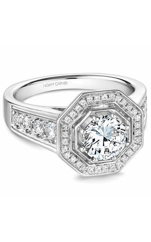 Noam Carver Vintage Engagement ring B244-01WM product image