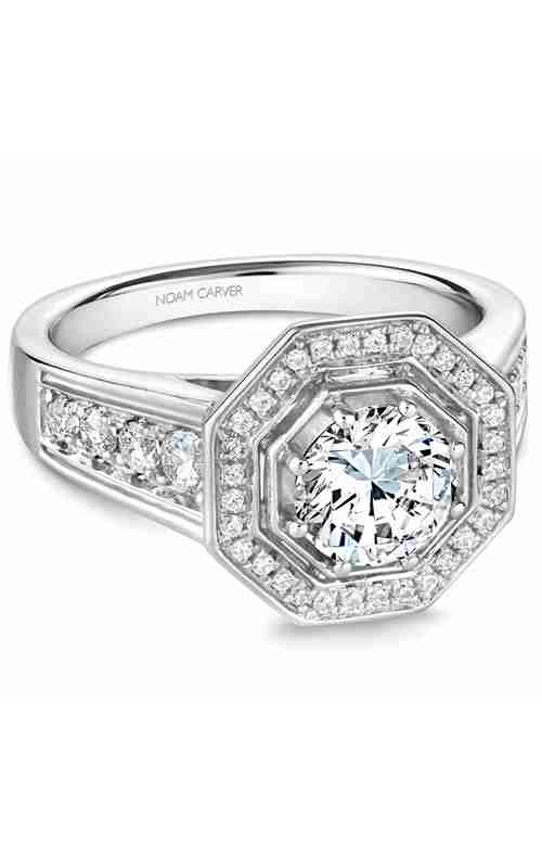 Noam Carver Vintage Engagement ring B244-01WM product image