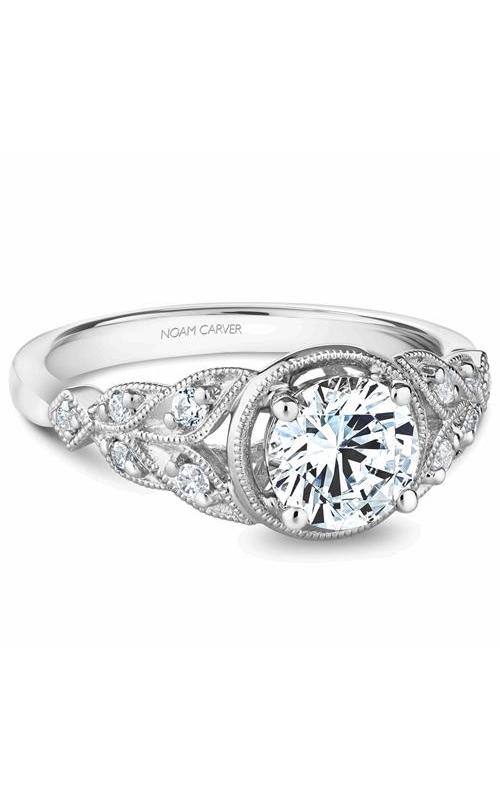 Noam Carver Vintage Engagement ring B252-01WM product image