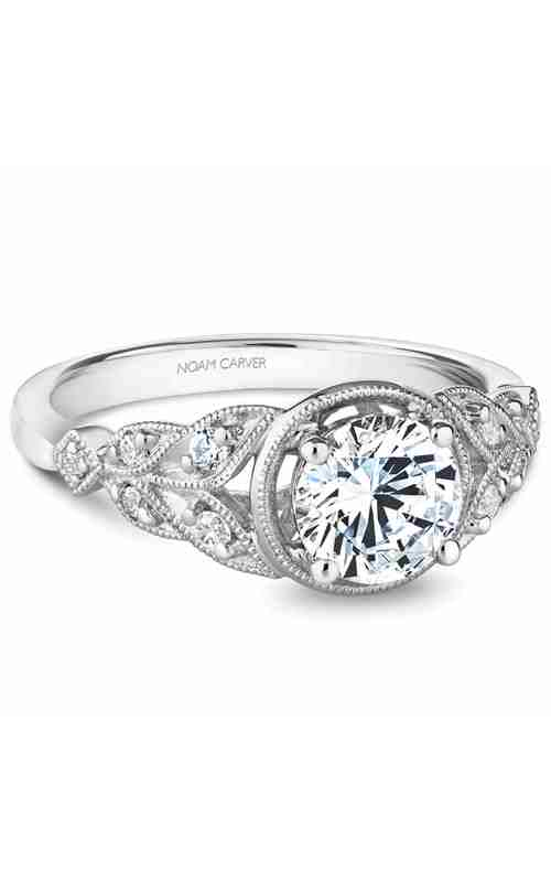 Noam Carver Vintage Engagement ring B252-01WM product image