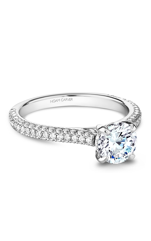 Noam Carver Modern Engagement ring B234-01WM product image