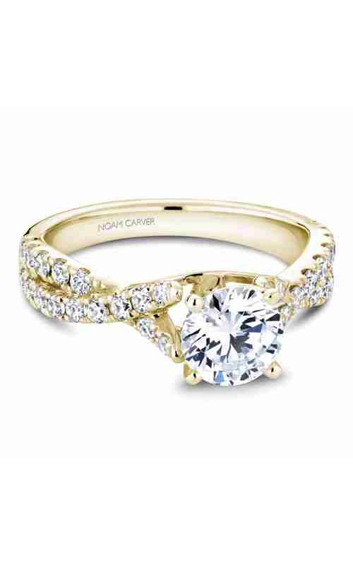 Noam Carver Twist Band Engagement ring B154-01YM product image
