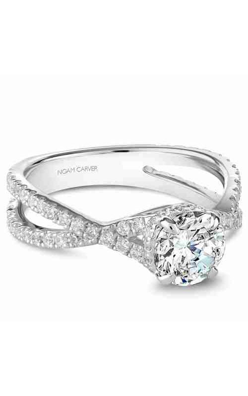 Noam Carver Engagement ring Twist Band B241-02WM product image