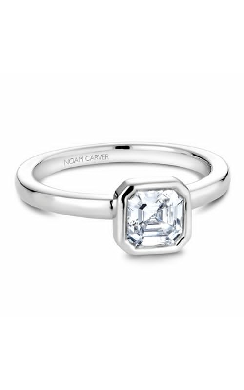 Noam Carver Bezel Engagement Ring B095-01WM product image