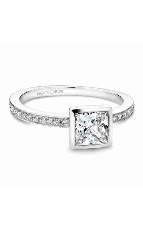 Noam Carver Bezel Engagement ring B095-04WM product image