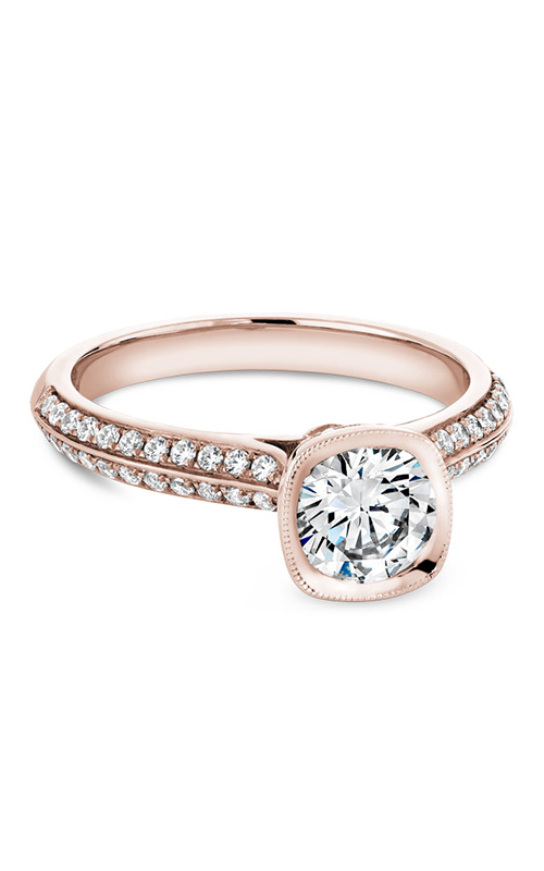Noam Carver Bezel Engagement ring B144-13RM product image