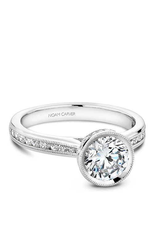 Noam Carver Bezel Engagement ring B145-12WM product image