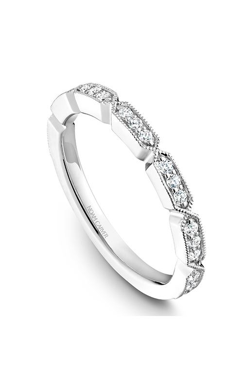 Noam Carver Stackables Wedding band STB19-1WM-D product image