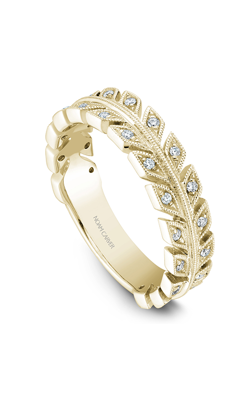 Noam Carver Stackables Wedding band STB3-1YM-D product image